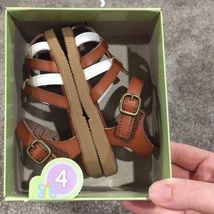 Toddler girl sandals size 4